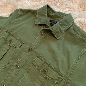 JCrew military tunic